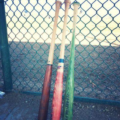 Fletcher Bats, ready for the game bats